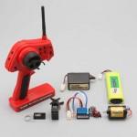 2.4Ghz ランニングセット レッドカラー(ドリフトパッケージ用)